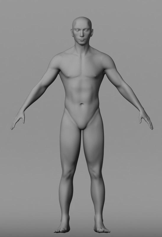 Male Body Base :