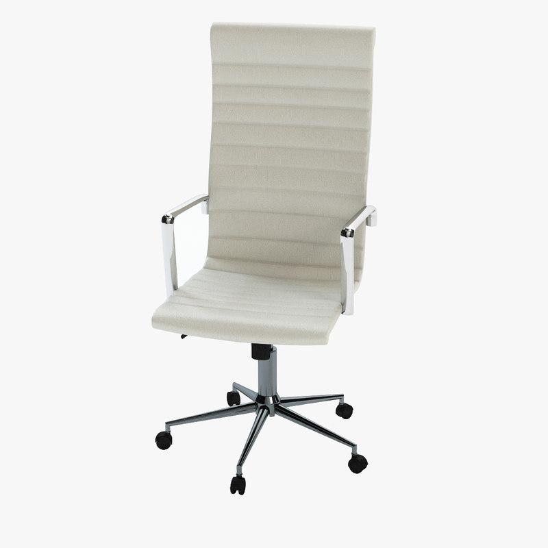 modern executive office chair ergonomic store san jose 3d obj