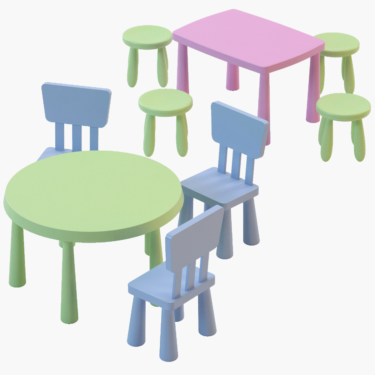 ikea childrens plastic table and chairs serta chair warranty contact sets drafting