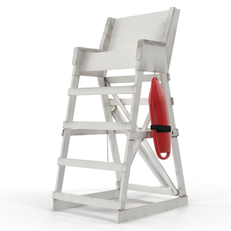 how to build a lifeguard chair used high chairs for sale 3d model