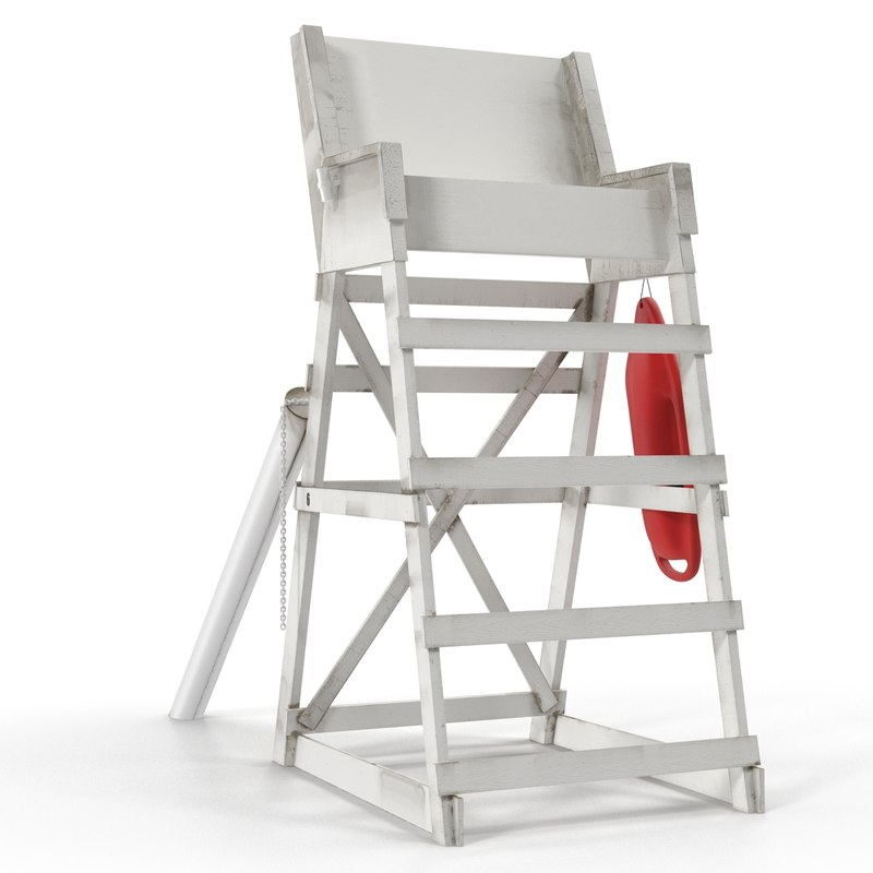 how to build a lifeguard chair student desk with 3d model