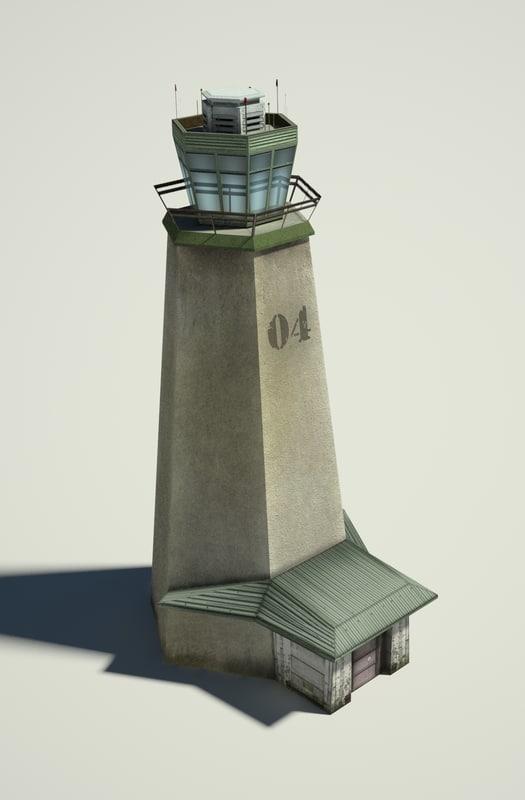 Military Tower 3d Obj