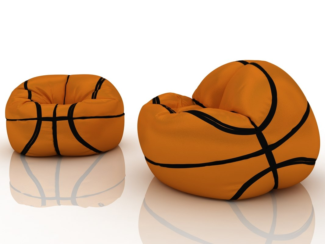 Basketball Bean Bag Chair Basketball Chair Bag