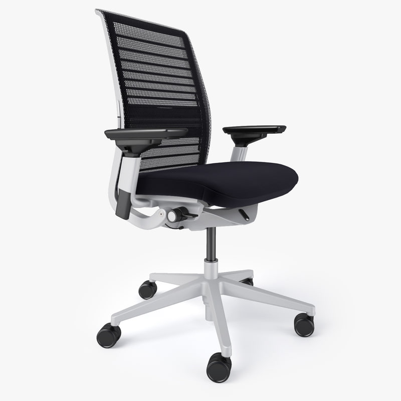 steelcase chair office with or without armrest max think