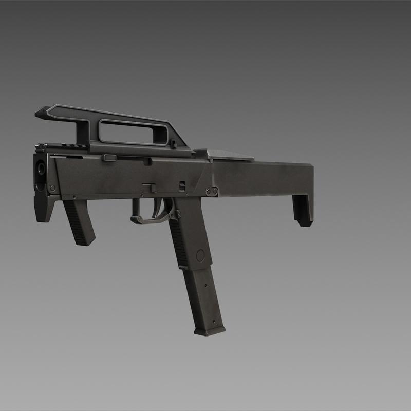 magpul fmg-9 submachine guns 3ds