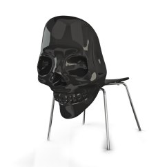 Black Skull Chair Big Joe Cuddle Bean Bag 3dsmax