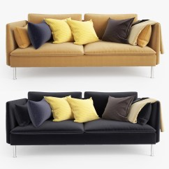 Yellow Sofa Bed Ikea Reconditioned Sofas 3d Soderhamn Seat
