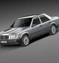 mercedes w124 e class 1984 1997 [ 1066 x 800 Pixel ]