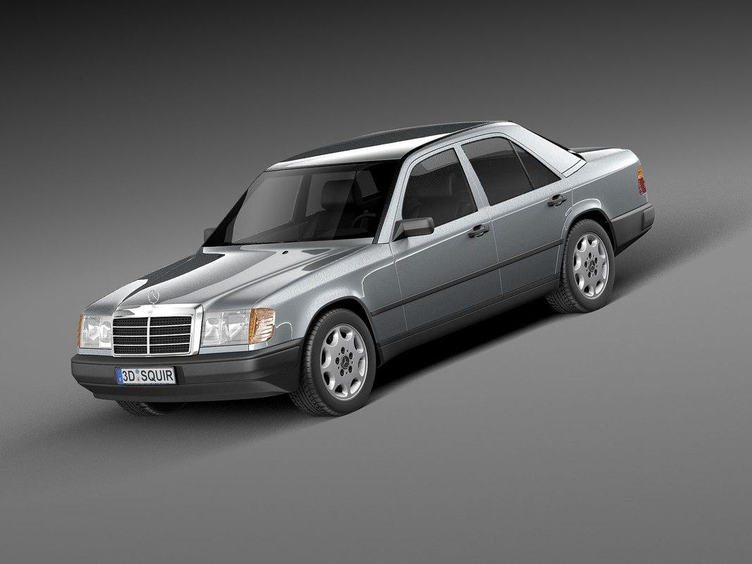 hight resolution of mercedes w124 e class 1984 1997