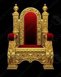 3d royal chair armchair