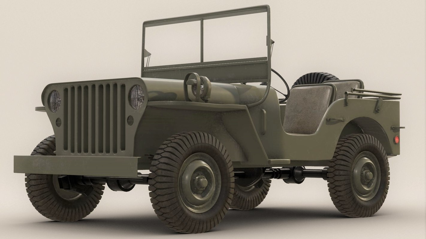 hight resolution of willy army jeep
