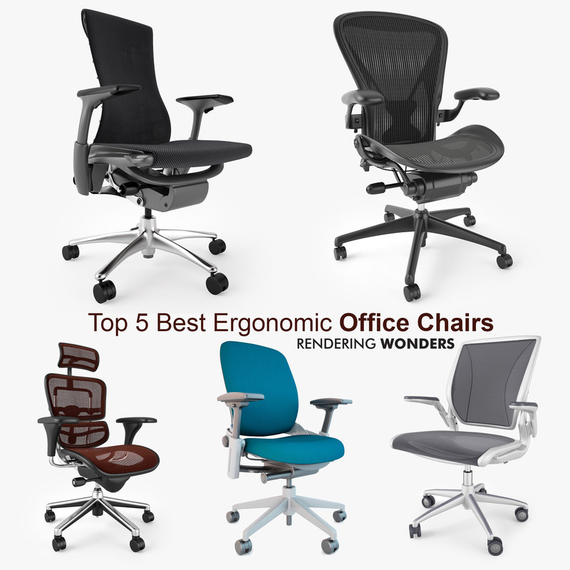 best ergonomic chairs 2016 clearance chair covers for sale 5 office 3d max