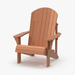 Non Wood Adirondack Chairs Where To Buy Chair Covers At Wholesale Light 3d Model