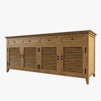 obj restoration hardware shutter cabinet