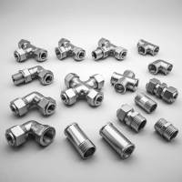 stainless steel pipe fittings 3d max