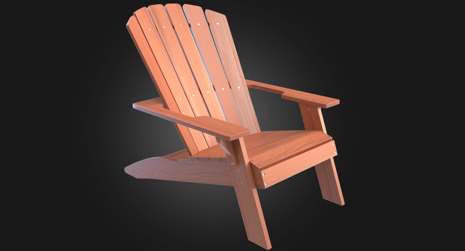 Lifetime Chair Garden Wood Chair