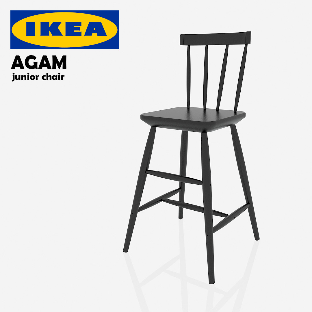 ikea high chair review party city covers free 3ds model agam