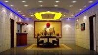3d dining hall lighting