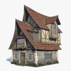 Fantasy Medieval House