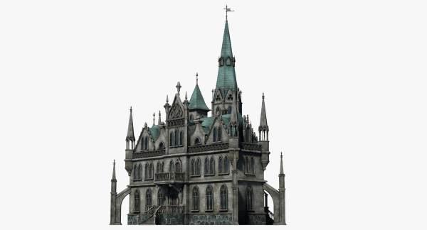 Gothic 3D Model