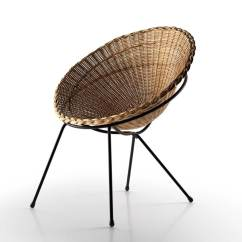 Round Wicker Chair Disability Furniture Chairs 3d Model
