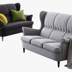 Strandmon Wing Chair Review Gray And White Accent Chairs Ikea Free With