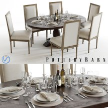 Pottery Barn Tableware & Outdoor Table