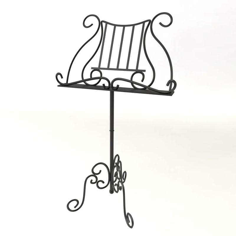 decorative book stand x