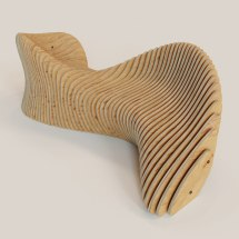 3d Model Parametric Bench Drawings