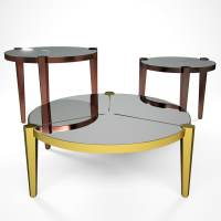 3d model regina table fendi casa