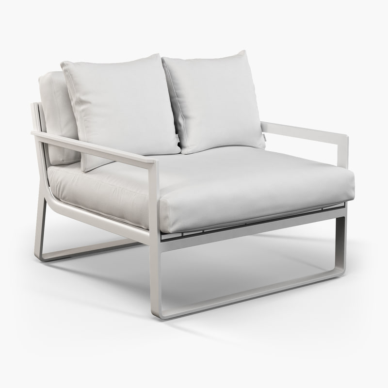 gandia blasco clack chair beach towels with pocket for lounge 3d outdoor furniture model