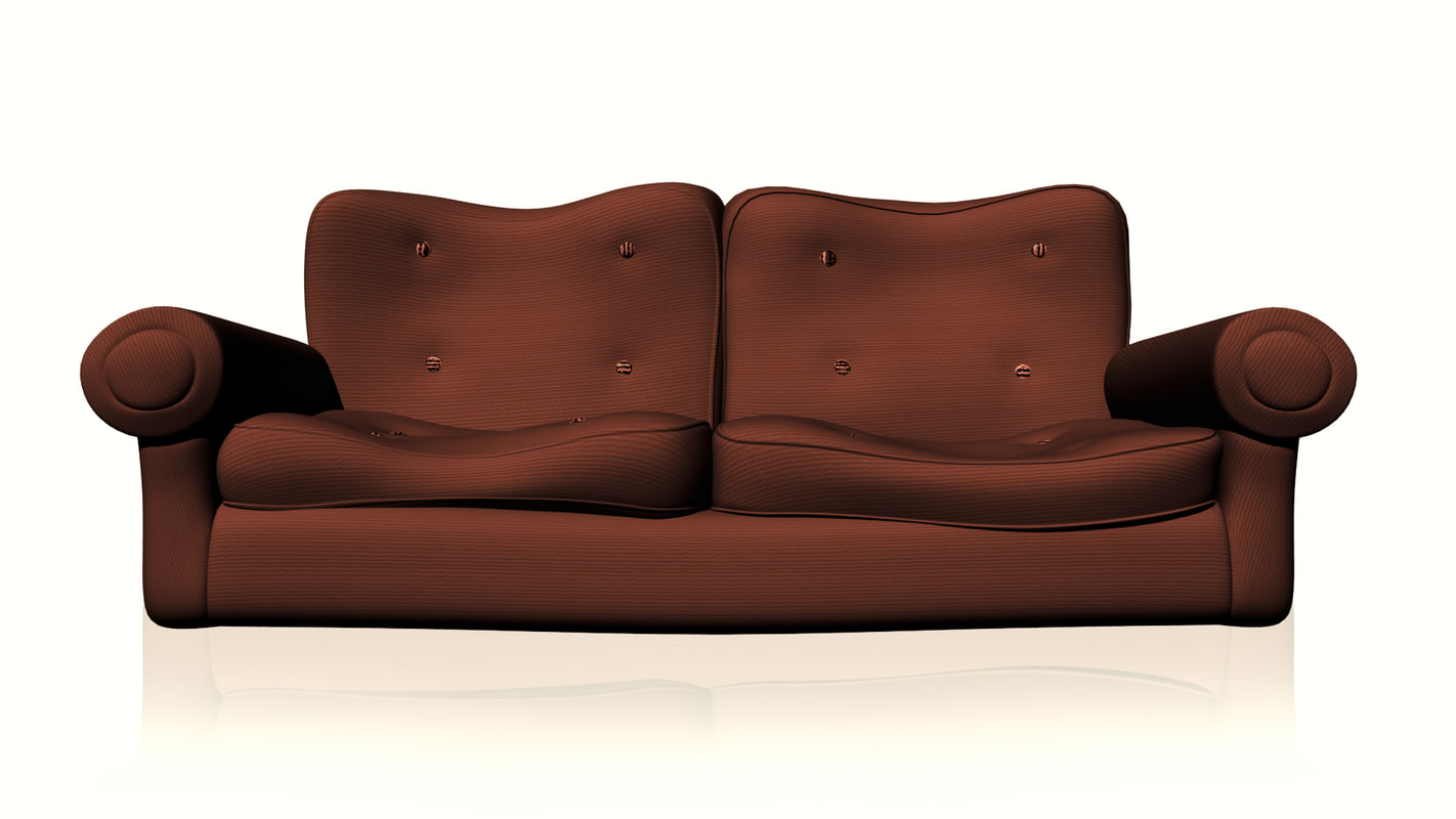 sofa images 2017 organic bed 3d model cartoon couch