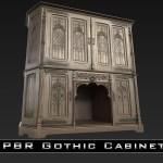 Pbr Gothic Cabinet