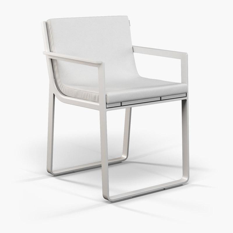 gandia blasco clack chair exercise video 3d model outdoor furniture
