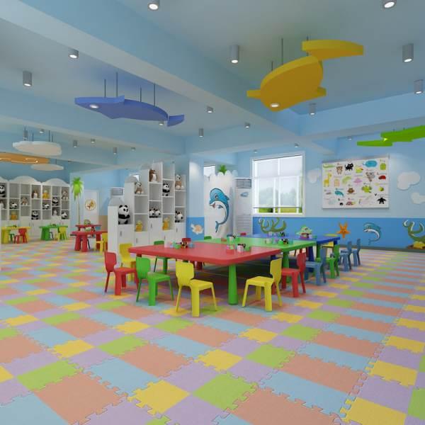 Kindergarten Classroom 3d Model - Turbosquid 1182087