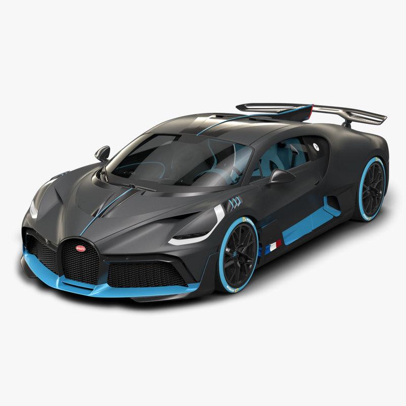 Bugatti divo model - TurboSquid 1347341