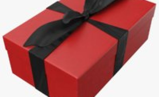 Gift Box 3d Models For Download Turbosquid