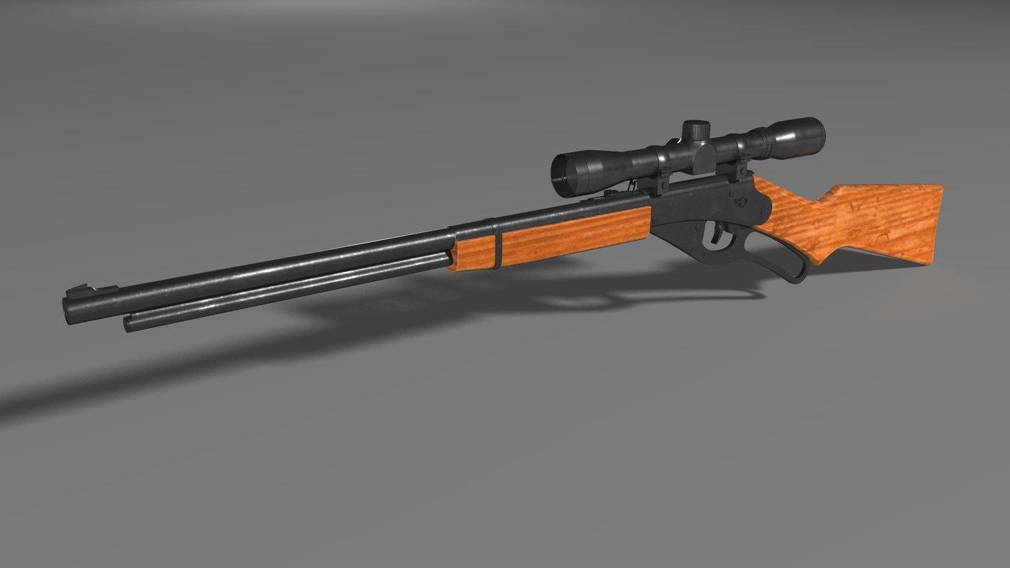 hight resolution of red ryder bb gun 3d