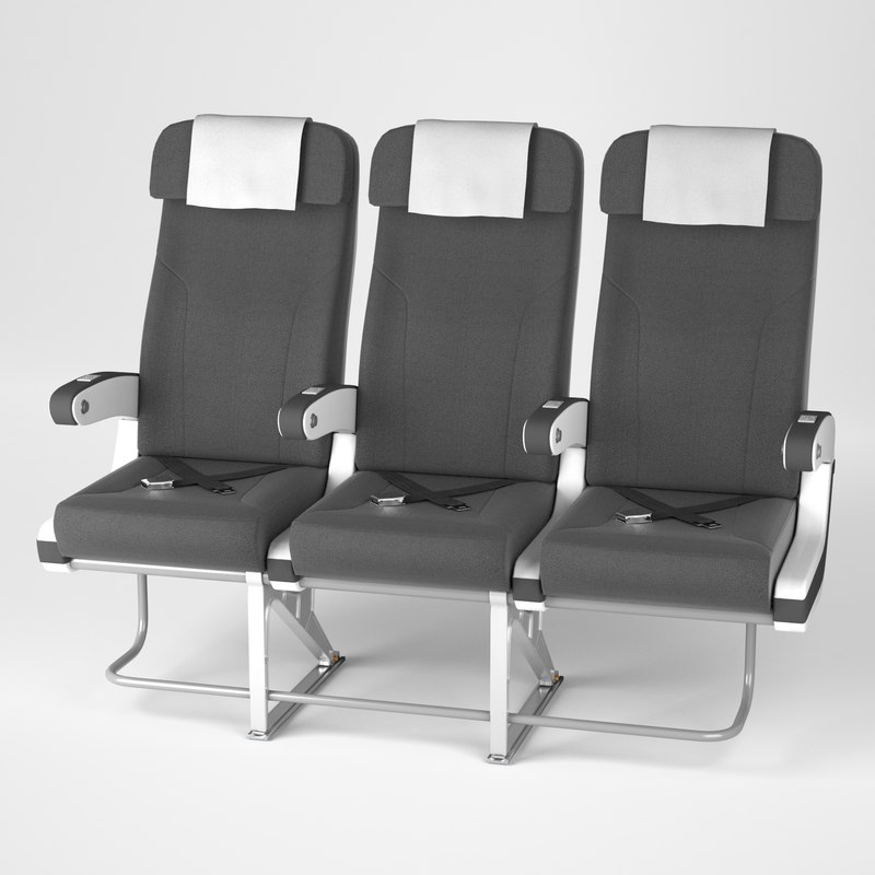 Airplane chair v4 3D model  TurboSquid 1375547