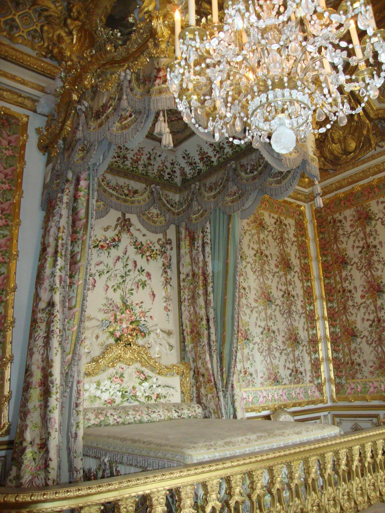 La camera da letto di Maria Antonietta  Viaggi vacanze e