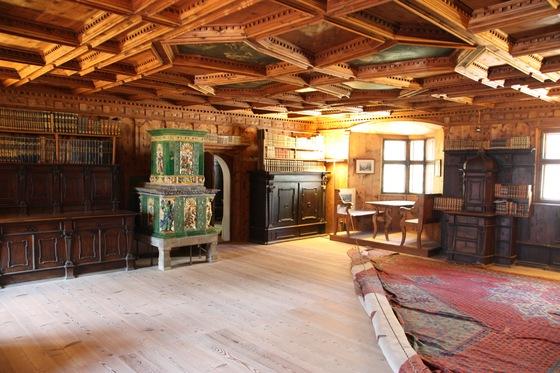 Biblioteca del Castel Taufers  Viaggi vacanze e turismo