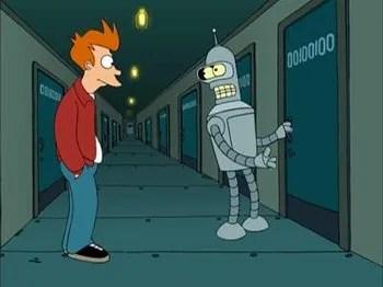Futurama S 1 E 3 I Roommate  Recap  TV Tropes