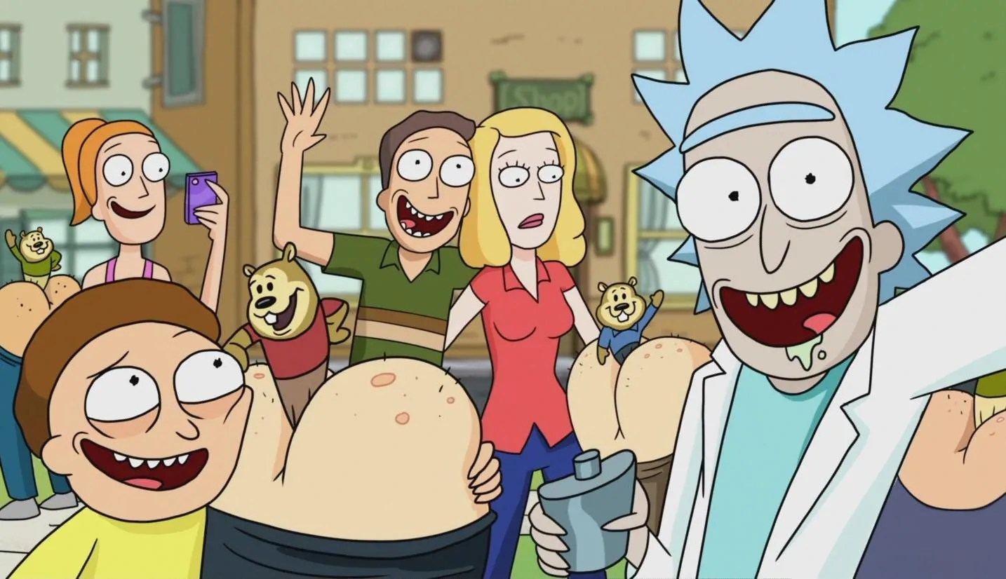 Image result for ricky morty