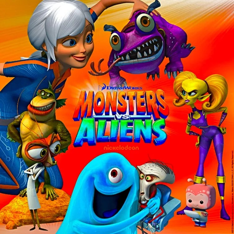 Monsters Vs Aliens (2013) (western Animation)  Tv Tropes