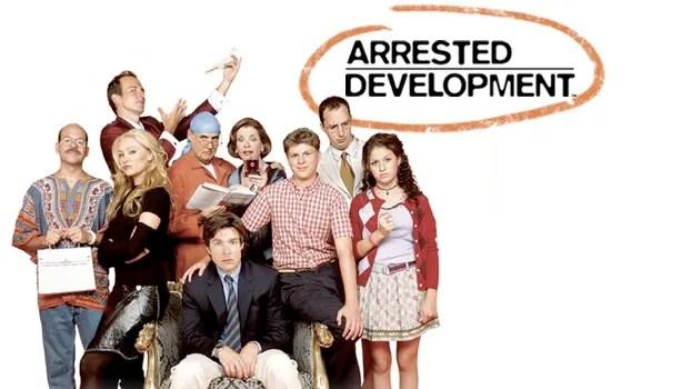 arrested development series tv