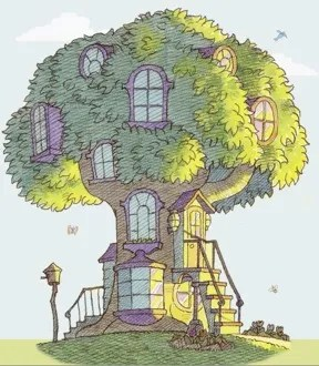 Cute Stitch On Side Wallpaper Arboreal Abode Tv Tropes