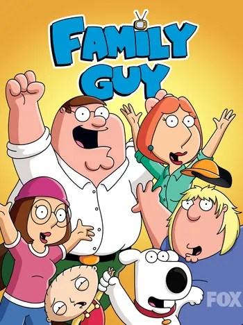 Watch Family Guy Kiss Cartoon : watch, family, cartoon, Family, (Western, Animation), Tropes