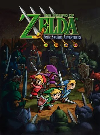 The Legend Of Zelda Four Swords Adventures : legend, zelda, swords, adventures, Legend, Zelda:, Swords, Adventures, (Video, Game), Tropes