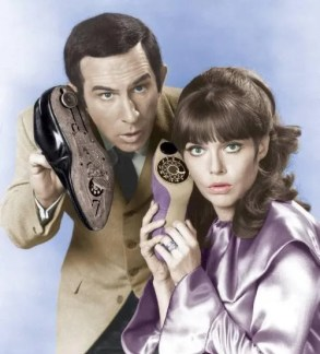 Image result for get smart tv series max and 99 dvd covers