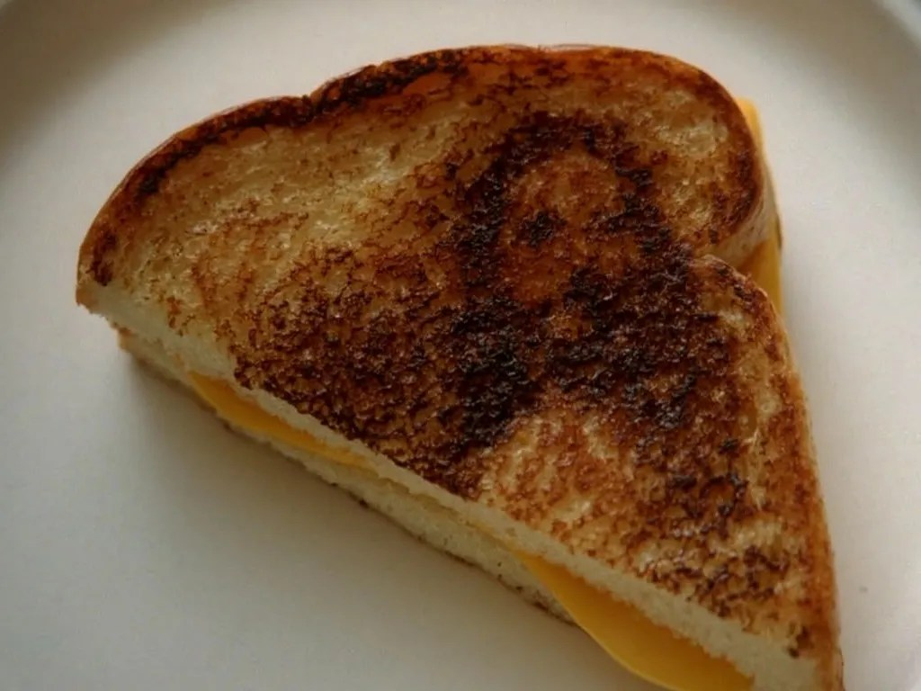 Image result for grilled cheesus